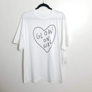 Forever 21 x The Style Club Glow on Girl White